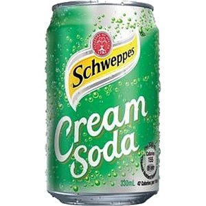 Foto Cream Soda Schweppes